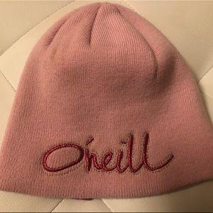 O'Neill pink winter hat